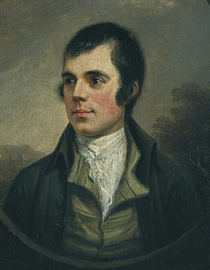 Portrait von Robert Burns