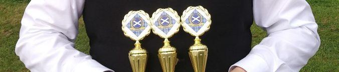 Drei Pokale für den Ruhr-Piper bei der Competition in Xanten