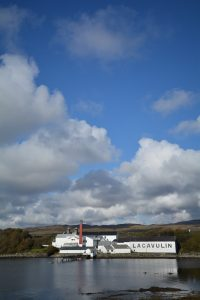 Lagavulin Distillery auf Islay