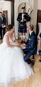 Hochzeit von Jenni und Sören in Essen Werden, Foto: petrafiedler.com